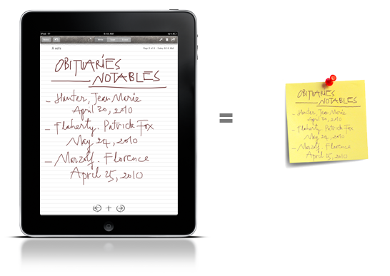 Papers Productivity Apps for iPad